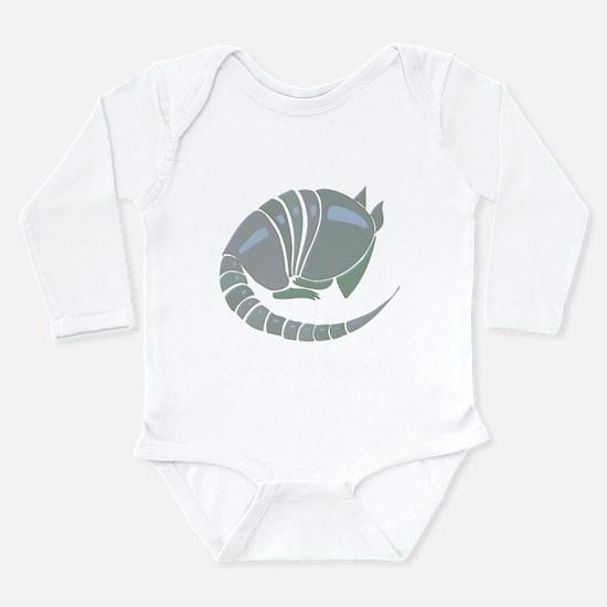 Armadillo Long Sleeve Infant Bodysuit
