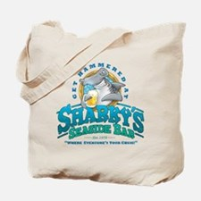 Sharky's Seaside Bar Tote Bag