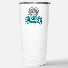 Sharky's Seaside Bar Stainless Steel Travel Mug
