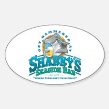 Sharky's Seaside Bar Decal