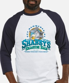 Sharky's Seaside Bar Baseball Jersey