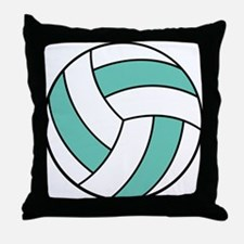 Funny Volleyball Belly Throw Pillow