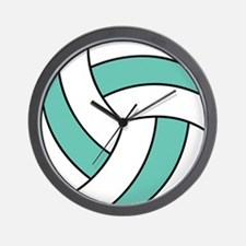 Funny Volleyball Belly Wall Clock