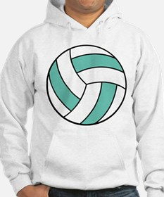 Funny Volleyball Belly Hoodie