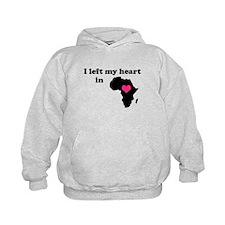 I Left My Heart in Africa Hoodie