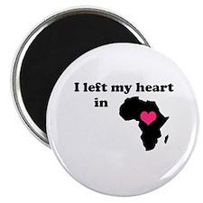 I Left My Heart in Africa Magnet
