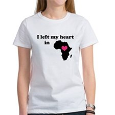 I Left My Heart in Africa Tee