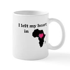 I Left My Heart in Africa Mug