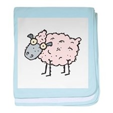 Silly Sheep Infant Blanket