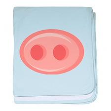 Pig Snout (Nose) Infant Blanket