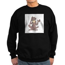 Confused Monkey Sweatshirt