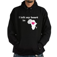 I Left My Heart in Africa Hoodie