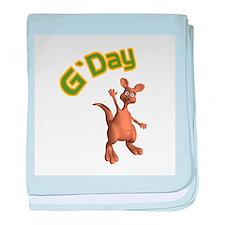 G'Day Australian Kangaroo Infant Blanket