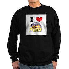 I Heart (Love) Beer Sweatshirt