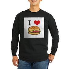 I Heart (Love) Cheeseburgers T