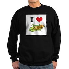 I Heart (Love) Corn (On the C Sweatshirt