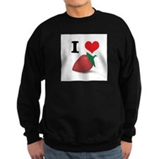 I Heart (Love) Strawberries Sweatshirt