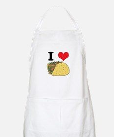 I Heart (Love) Tacos Apron
