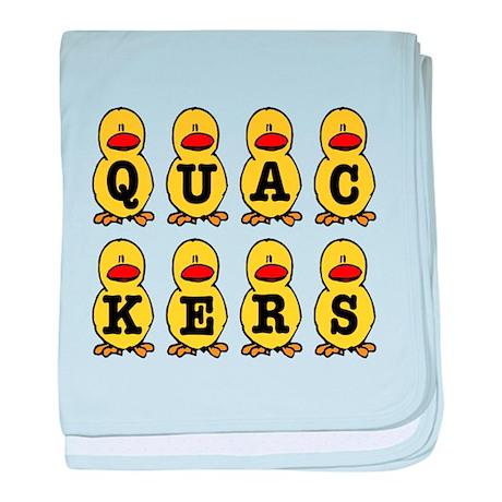 Quackers Ducks Infant Blanket