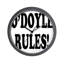 O'Doyle Rules! Wall Clock