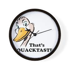 That's Quacktastic! Wall Clock