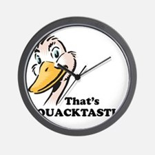 That's Quacktastic! Wall Clock