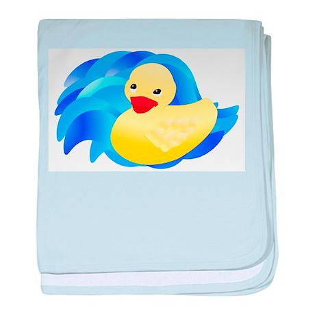 Rubber Ducky Infant Blanket