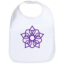 Purple Pentagram Bib