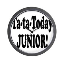 Ta-Ta-Today Junior! Wall Clock