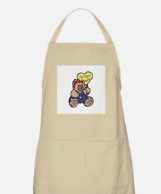 God Bless America Teddy Bear Apron