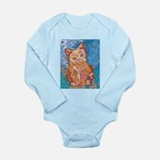 Whiskers Long Sleeve Infant Bodysuit