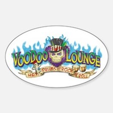 Voodoo Lounge Decal