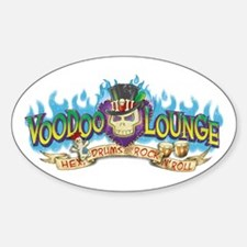 Voodoo Lounge Sticker (Oval)
