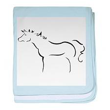 Wind Horse Infant Blanket