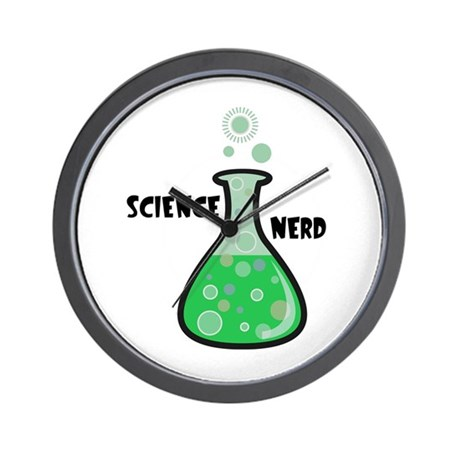 Science Nerd Wall Clock