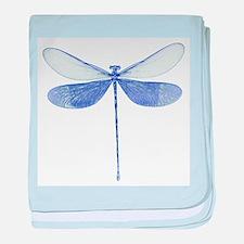 Blue Dragonfly Infant Blanket