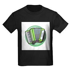 Green Accordian Design T