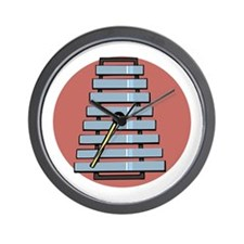 Glockenspiel/Xylephone Wall Clock