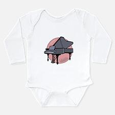 Grand Piano Long Sleeve Infant Bodysuit