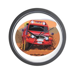 Offroading Graphic Wall Clock