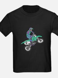 Dirt Bike Popping Wheelie T