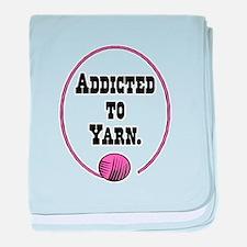 Addicted To Yarn Infant Blanket