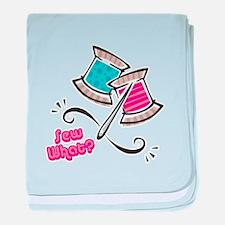 So (Sew) What? Design Infant Blanket