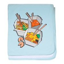 Chinese Takeout Infant Blanket