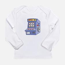 Slot Machine Long Sleeve Infant T-Shirt
