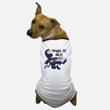 Funny Wanna Be Ninja Dog T-Shirt