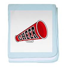Red Cheer Megaphone Infant Blanket