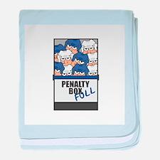 Hockey Penalty Box FULL Infant Blanket