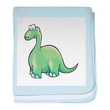 Cute Brontosaurus Infant Blanket