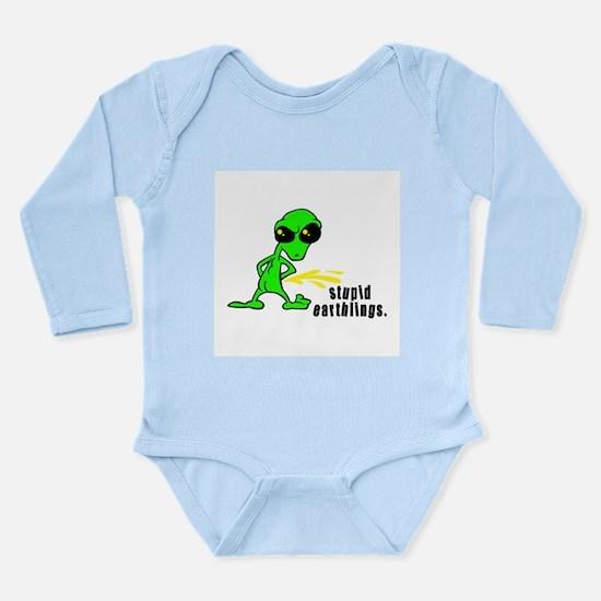 Stupid Earthlings Pissing Ali Long Sleeve Infant B